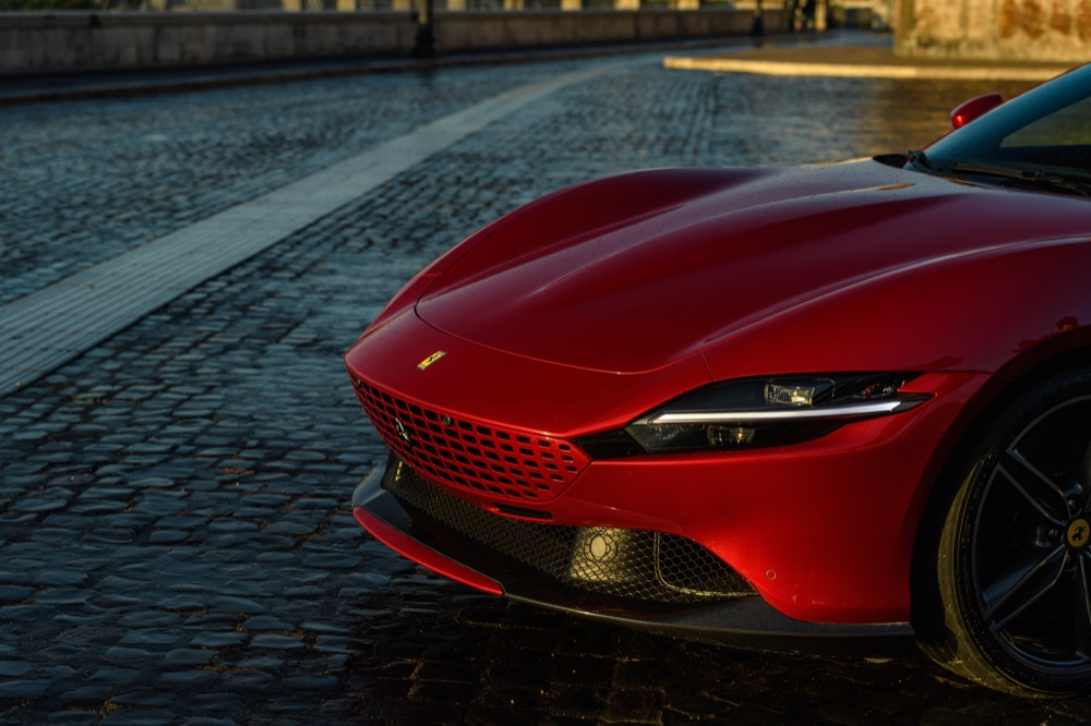 The New Ferrari Roma Supercar Is Coming
