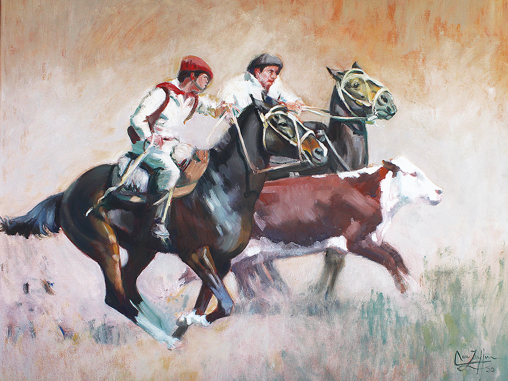 Equestrian Painter Adriana Zaefferer