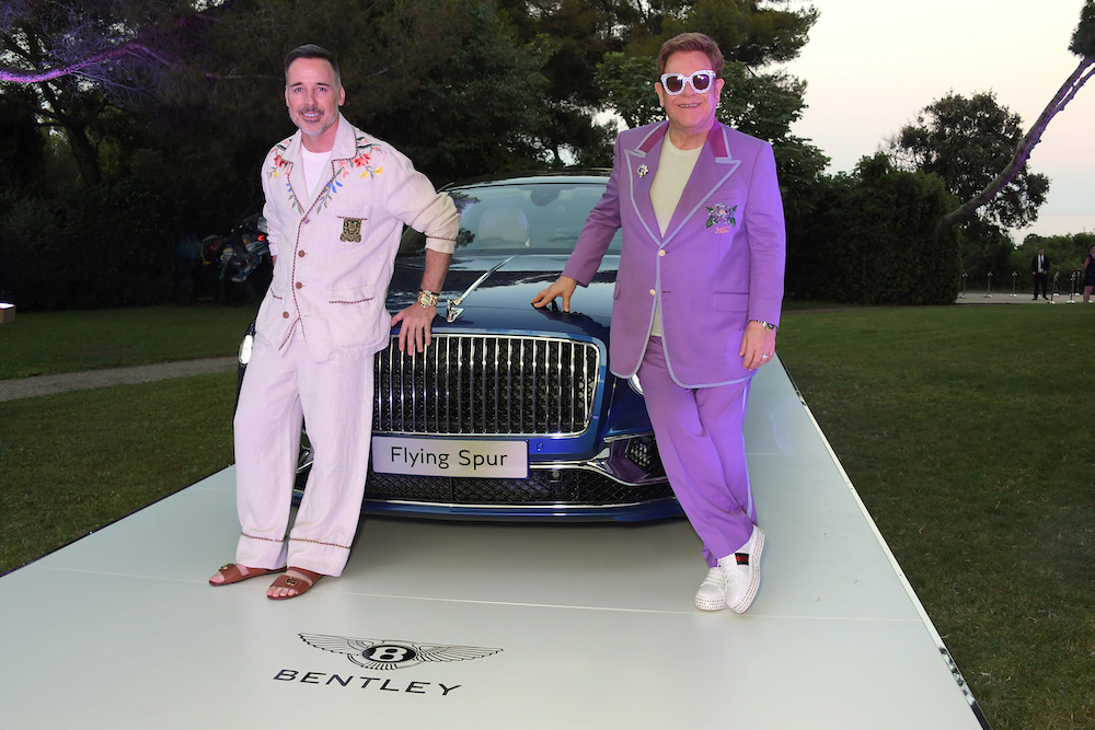 Bentley Flying Spur First Edition Auctioned At Elton John Aids Foundation Midsummer Gala