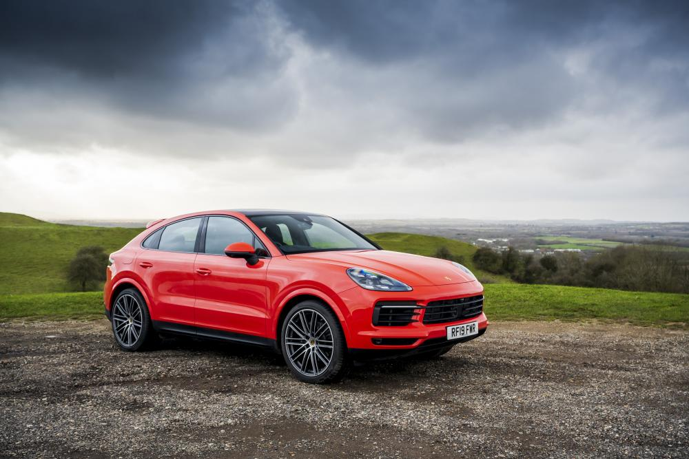 Porsche Cayenne Coupe - Fast Orange