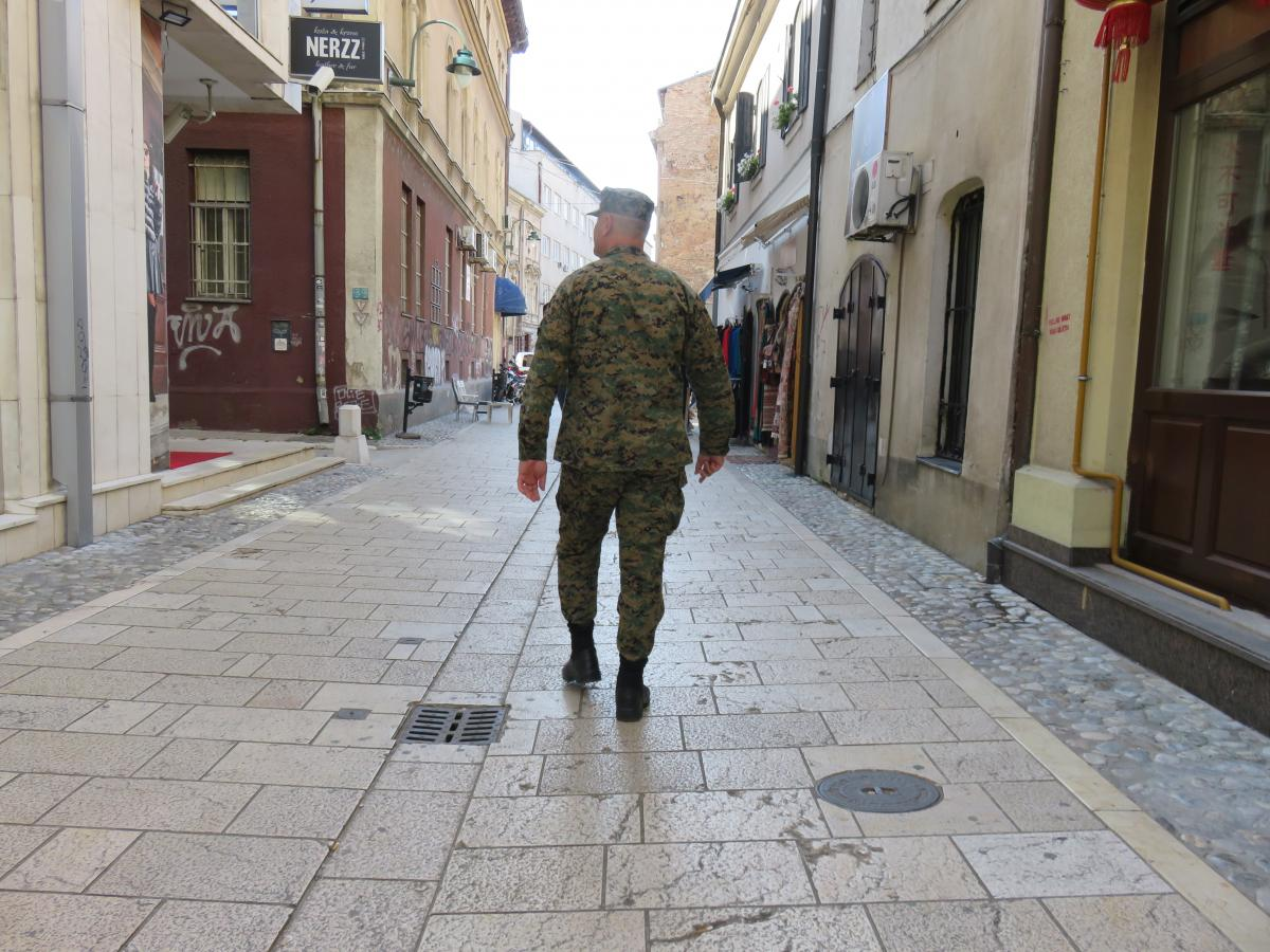 Reminders of war abound in Sarajevo