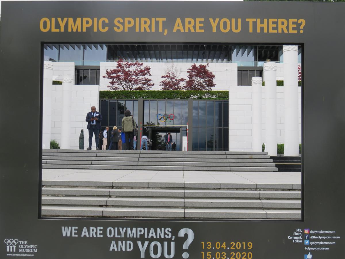 Frame your visit to The Olympic Museum Lausanne
