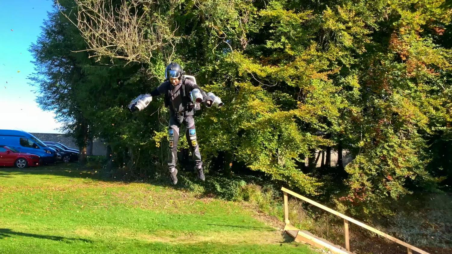 Richard Browning Flying Gravity Jet Pack