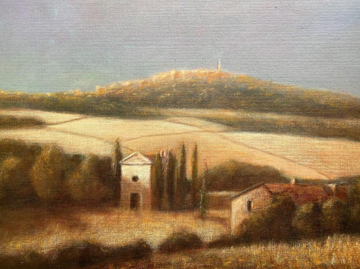 Tuscan Hills, Acrylic on Canvas