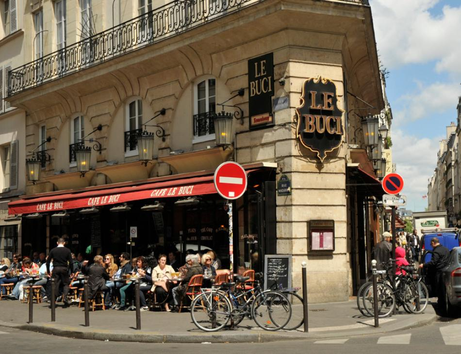 Paris Cafe Le Buci