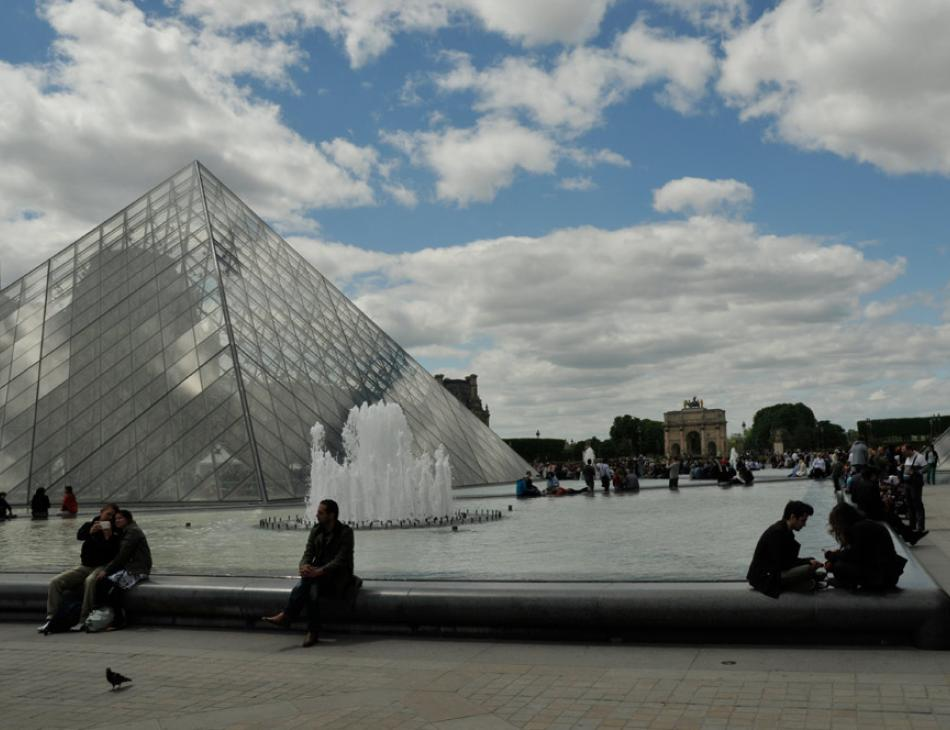 Paris Louvre Glass Pyramid