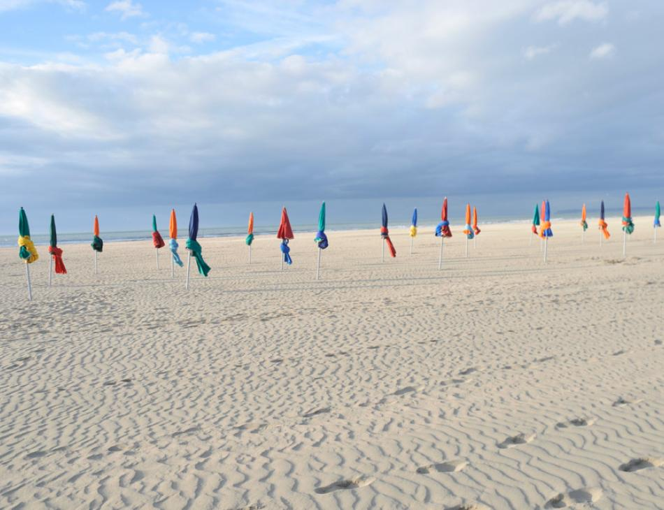 Deauville Beach Flags