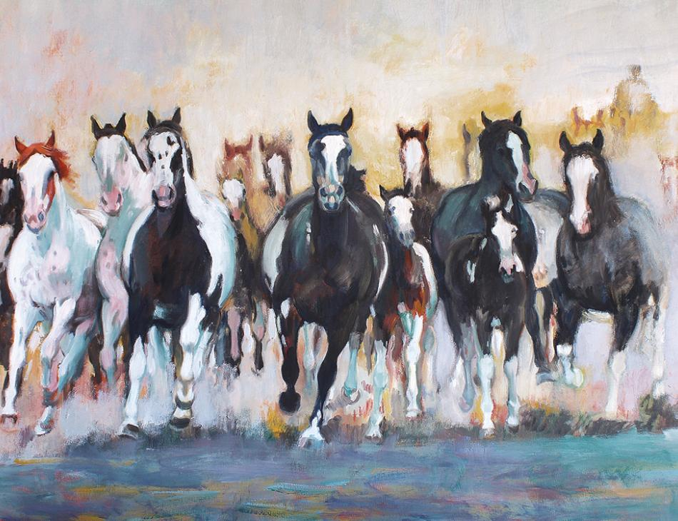 Equestrian Painter Adriana Zaefferer Tells Her Personal Story