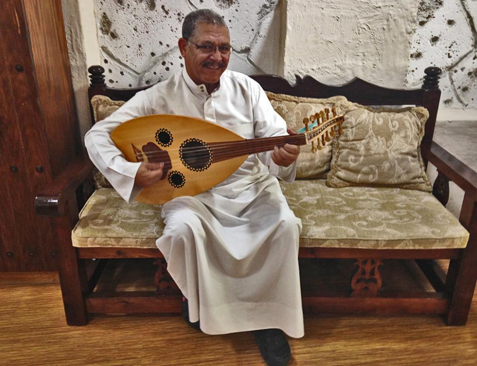 Lute Player Bahrain