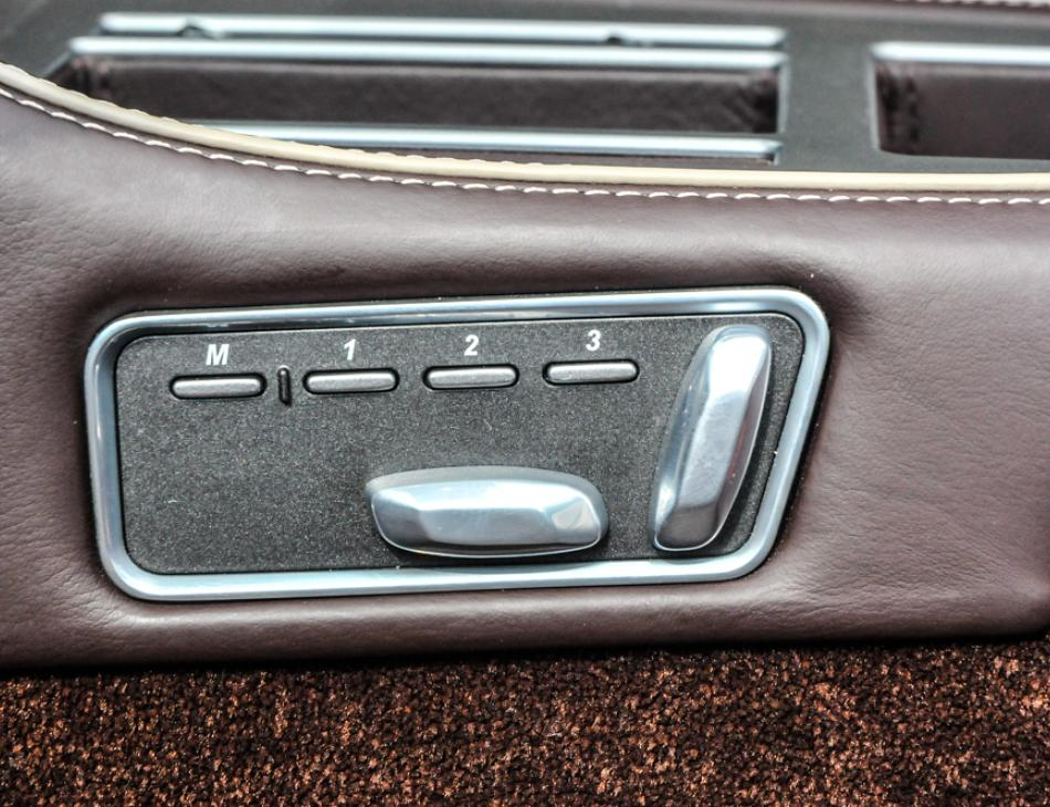 Aston Martin DB9 Volante Speakers Seat Controls