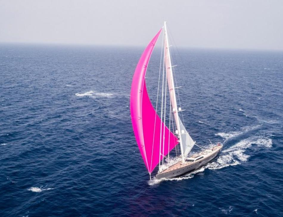 Baltic 175 Pink Gin: The Largest Carbon Fibre Yacht In The World