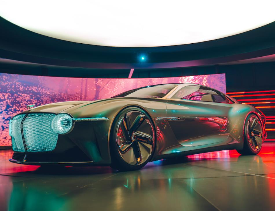 Bentley Unveil The Luxury Electric Bentley EXP 100 GT Supercar Of The Future
