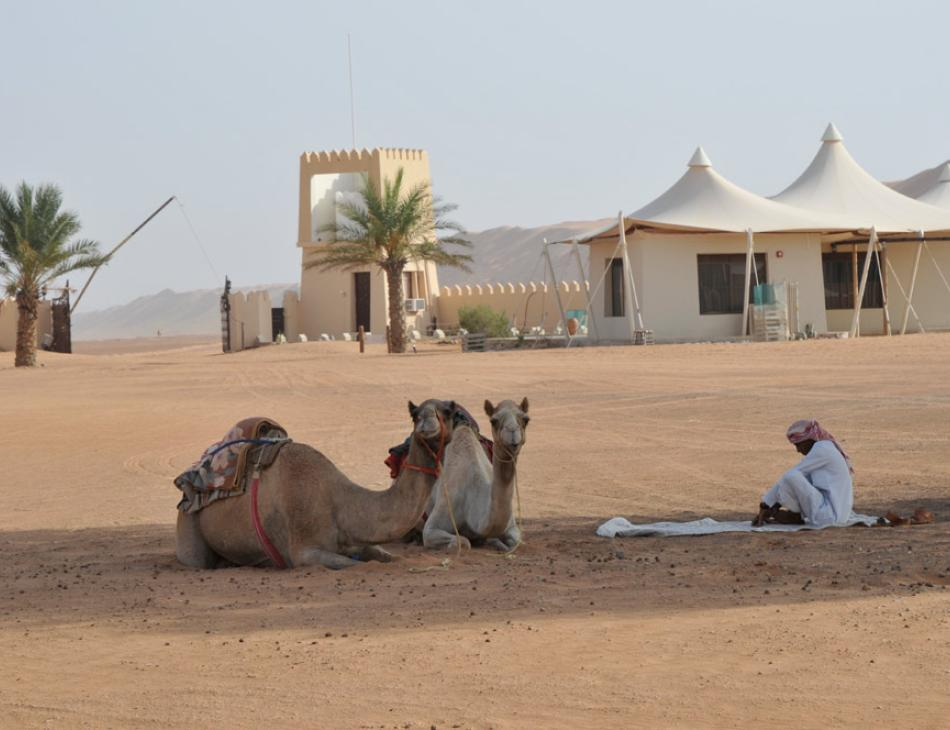 Desert Nights Camp in Oman