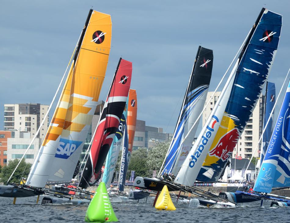 Extreme Sailing Series Cardiff 15