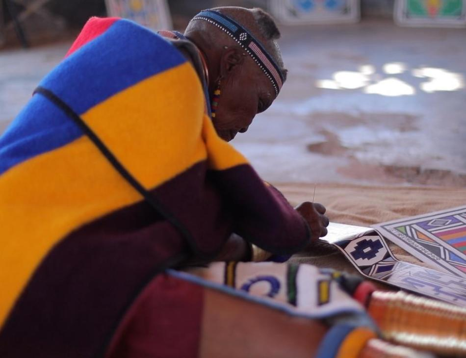 Celebrated Artist Esther Mahlangu's Unique Rolls Royce Phantom