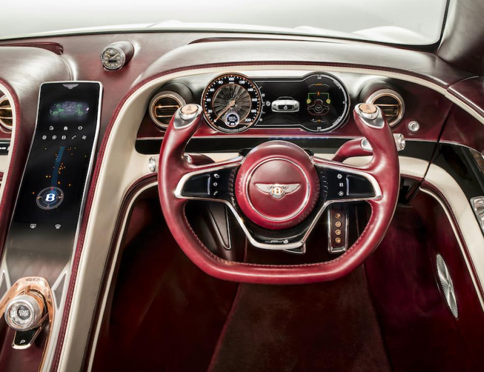 Bentley Announce EXP 12 Speed 6e Luxury Electric Car