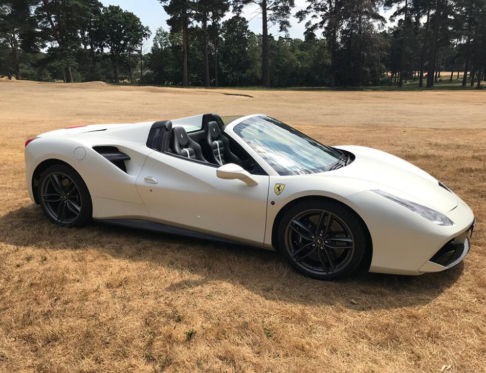 Formidable Ferrari 488 Spider Supercar Review