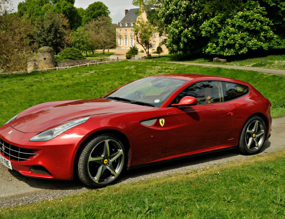 Ferrari Fun in France from Lord and Lady