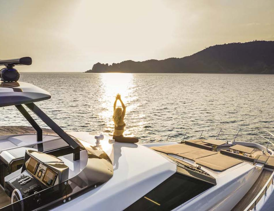 The New Ferretti 920 Pure Yacht