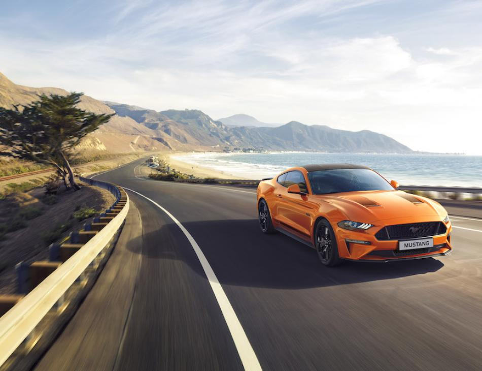 New Ford Mustang55 5.0-litre V8 Speical Edition