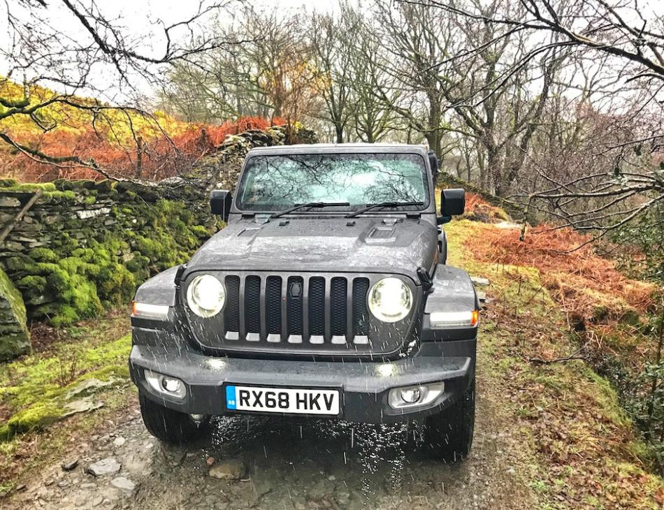Review New Jeep Wrangler Sahara-Overland-Rubicon Launch Lake Windermere