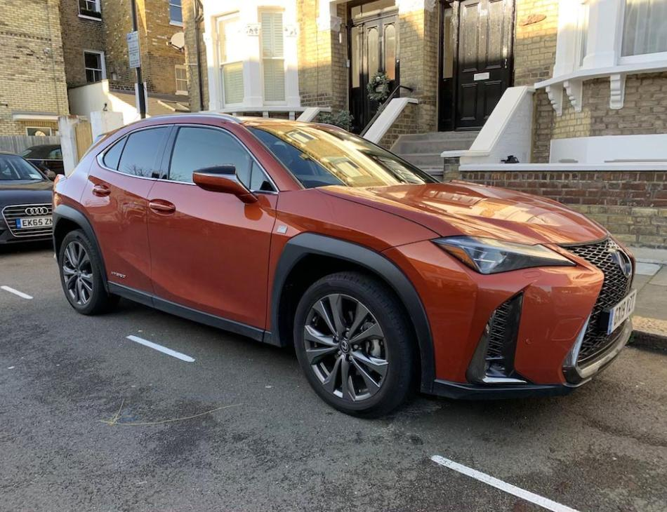 Lexus UX F-Sport Compact Self Charging Hybrid SUV Review