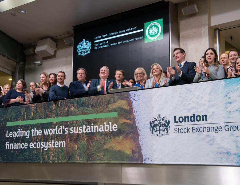 London Stock Exchange Ups Climate Change Credentials With 'Green Economy Mark'