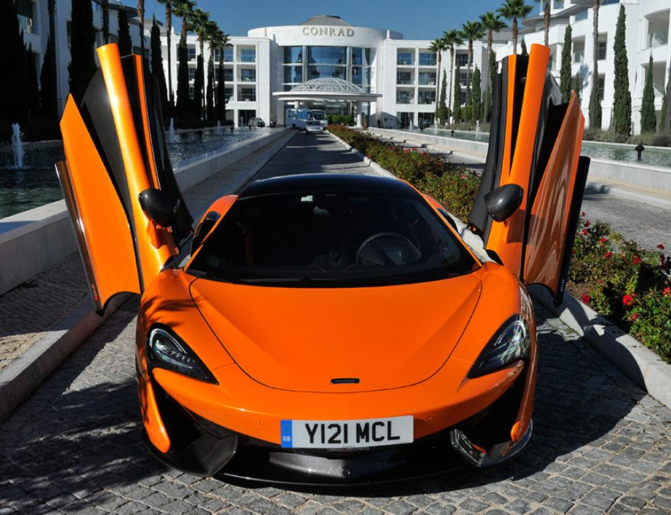 McLaren 570S Conrad Algarve Doors Up
