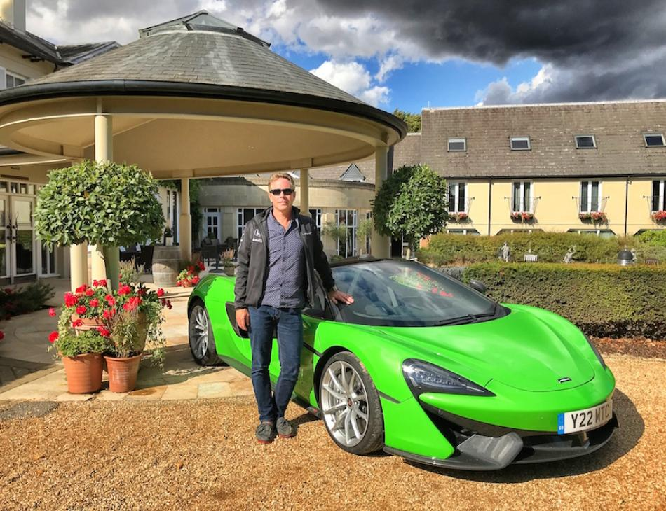 The Vineyard Hotel Berkshire Review McLaren 570S Spider Tour
