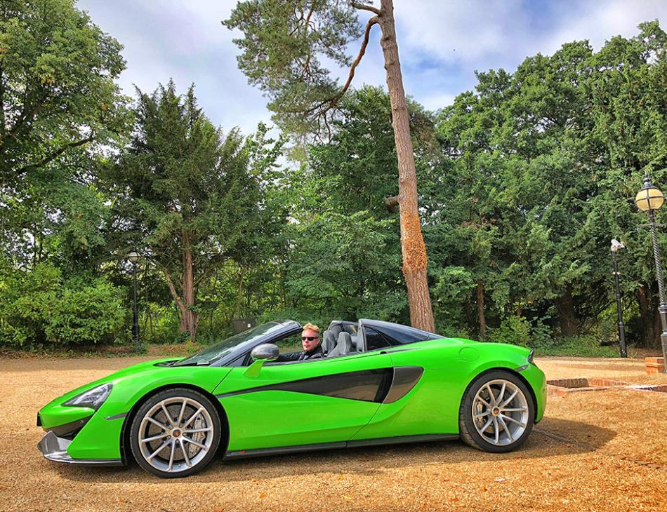 The Exhilarating & Magnetic McLaren 570S Spider Review