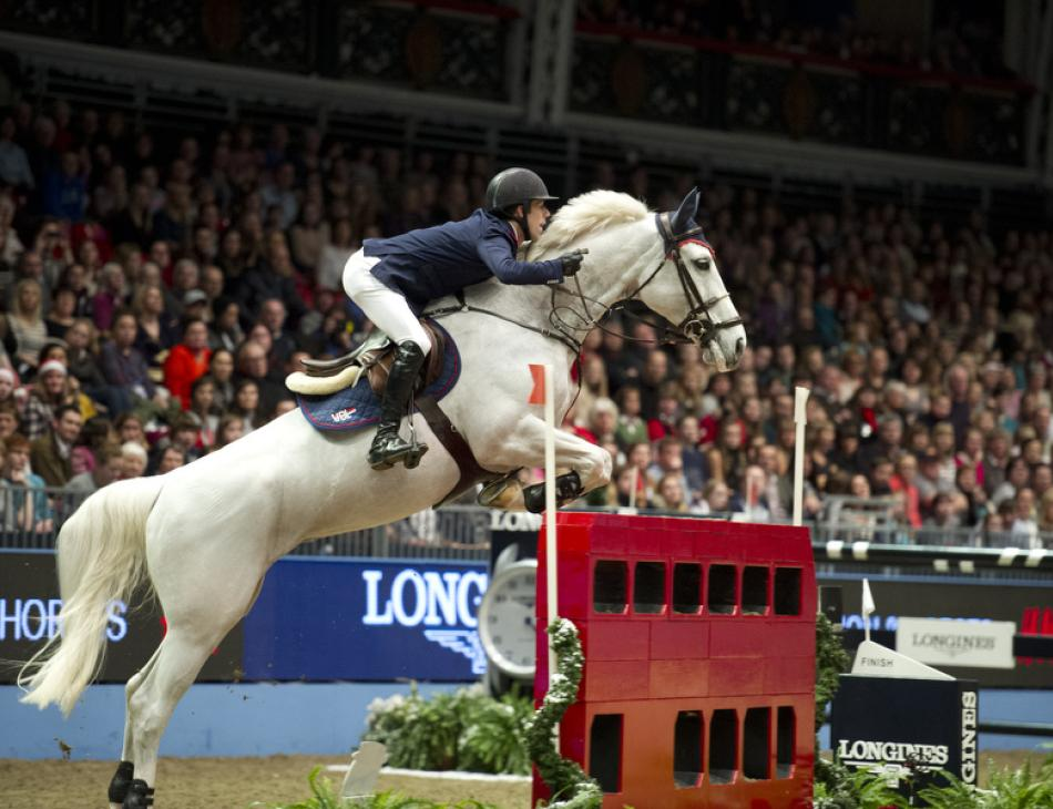 The London International Horse Show at Olympia