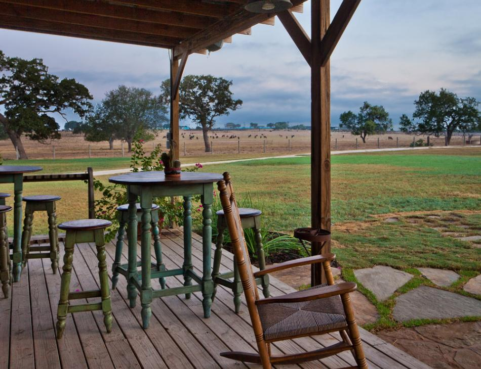 Picosa Ranch Texas Porch