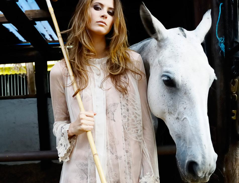 London Polo Fashion Horse and Mallet