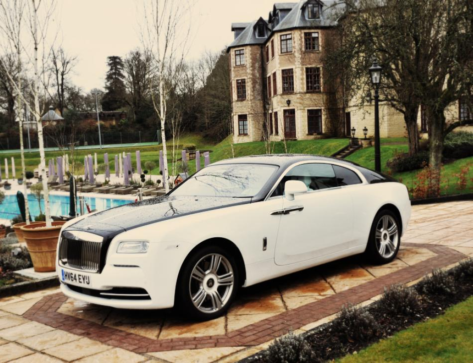Rolls Royce Wraith British Luxury Tour Pennyhill Park