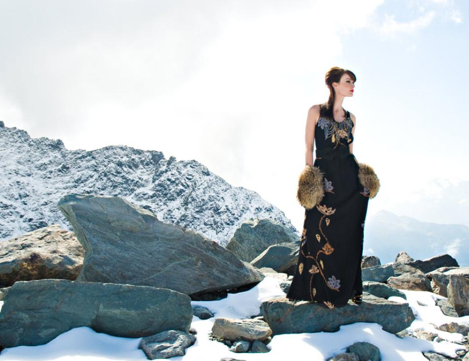 Verbier Winter Fashion Snow