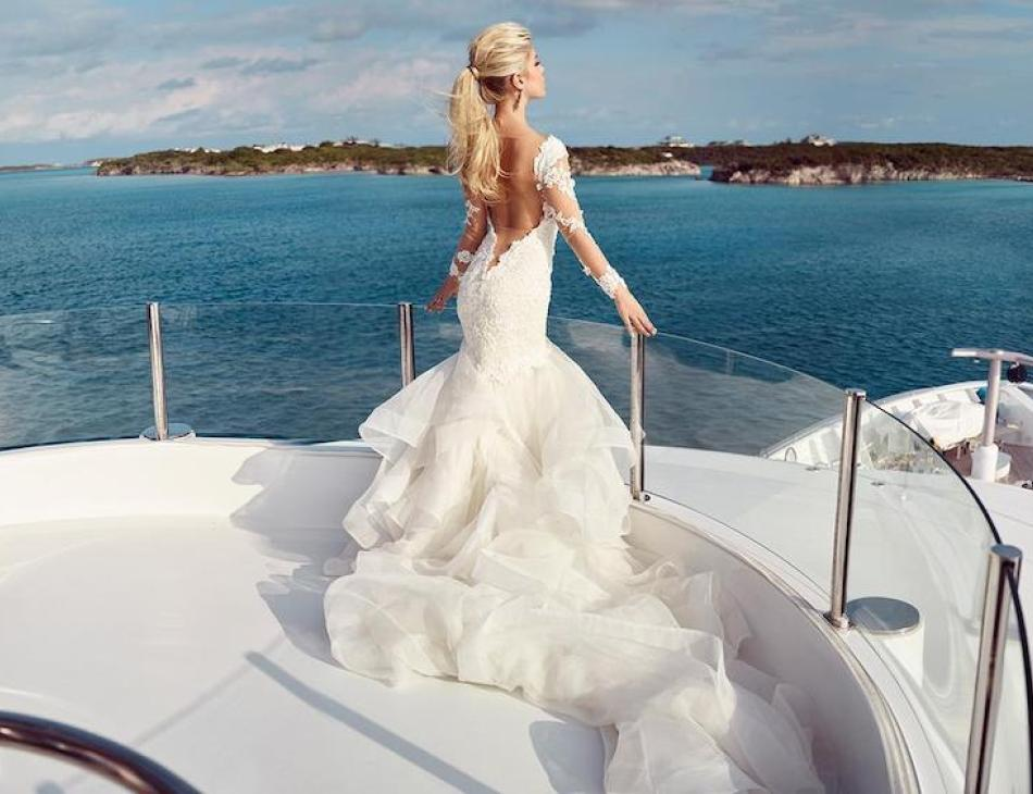 The Finest Yachts To Charter For Your Dream Wedding