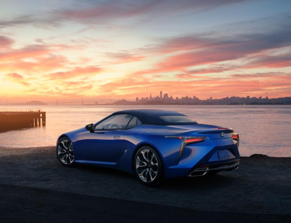 New Lexus LC 500 Convertible