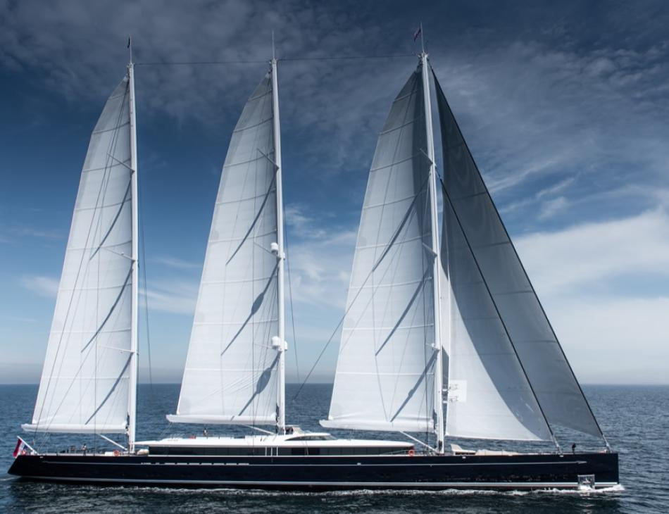 "Sea Eagle II ""Airborne"" : The World's Largest Aluminium Sailing Yacht"