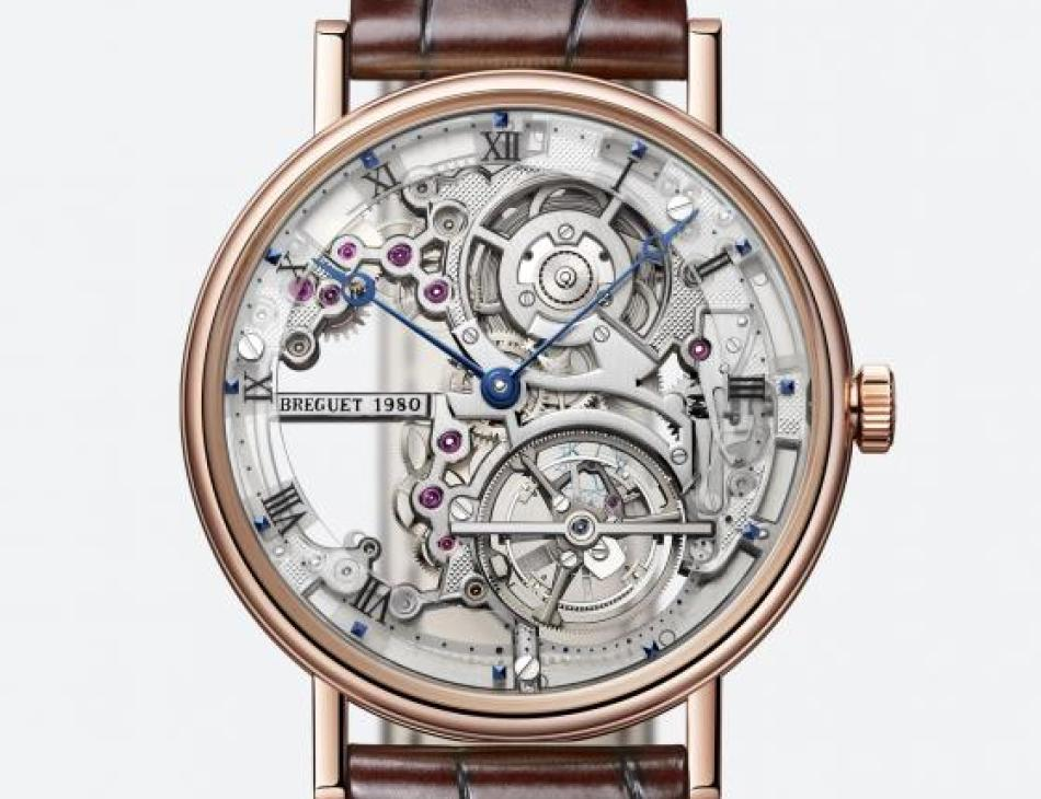 Breguet Reference 5395 skeleton watch