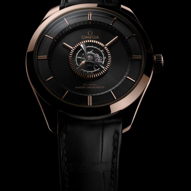 Omega Antimagnetic De Ville Tourbillon Numbered Edition Watch