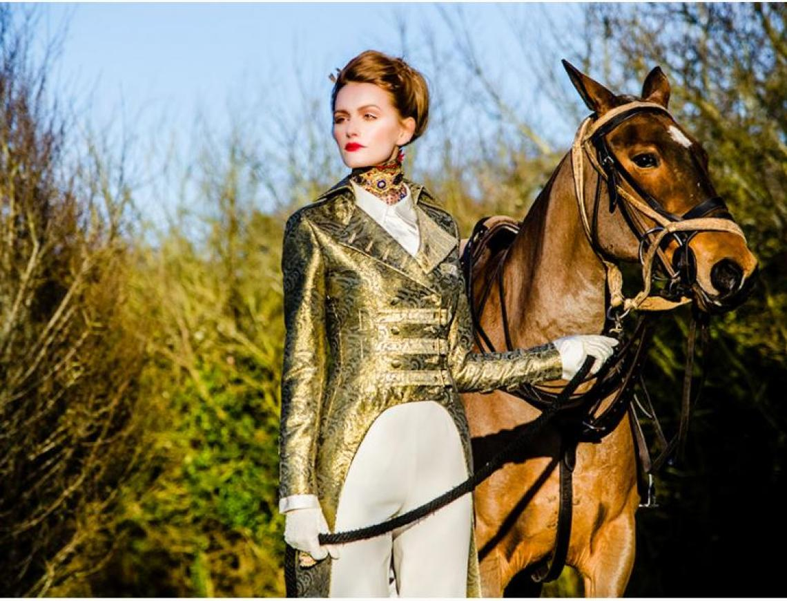 International Excellence Magazine Polo Fashion Shoot At Emsworth Polo